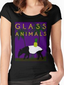 Glass Animals Tapir Women's Fitted Scoop T-Shirt