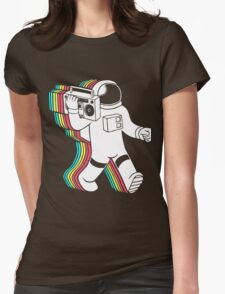 astronaut Womens Fitted T-Shirt