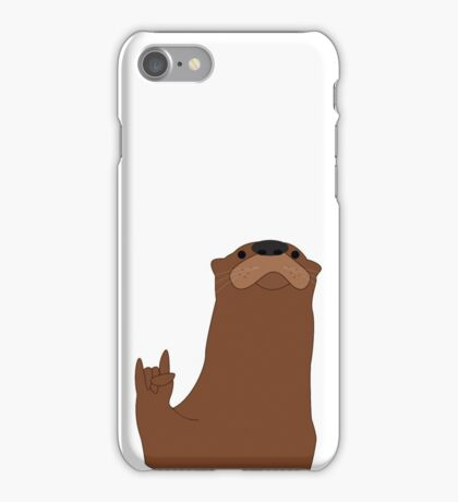 Rock and Roll Otter iPhone Case/Skin