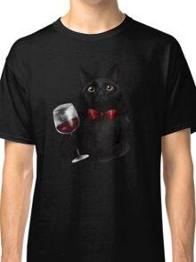 Wine Cat Classic T-Shirt