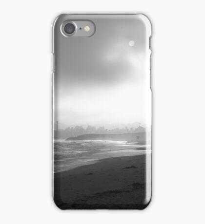 Silver: A Beach in the Fog iPhone Case/Skin