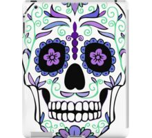 Purple Sugar Skull  iPad Case/Skin