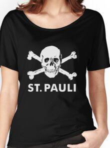 st pauli skull shirt Women's Relaxed Fit T-Shirt