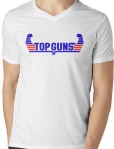Top Guns Mens V-Neck T-Shirt
