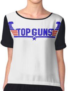 Top Guns Chiffon Top