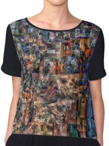 Data Memories Women's Chiffon Top