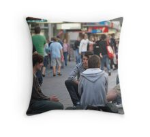 The place to meet - Rundle Mall Throw Pillow