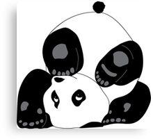 Playful Panda Canvas Print