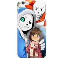 Undertale Selfie iPhone Case/Skin