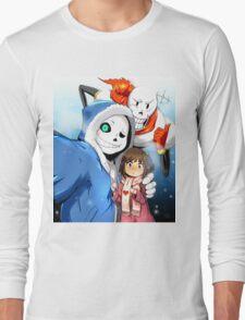 Undertale Selfie Long Sleeve T-Shirt