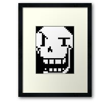 Papyrus from Undertale! Framed Print
