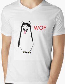 WOF PENGUIN Mens V-Neck T-Shirt