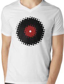 Vinyl Records Retro Vintage 50's Style Mens V-Neck T-Shirt