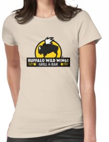 buffalo wild wings Womens Fitted T-Shirt