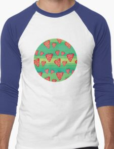 Strawberry Fields Forever Men's Baseball ¾ T-Shirt