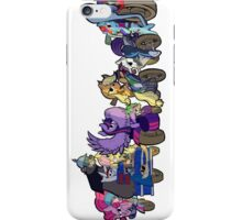 MARES OF HARMONY (ALL) (N/B) iPhone Case/Skin