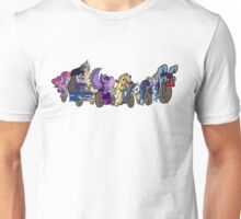 MARES OF HARMONY (ALL) (N/B) Unisex T-Shirt