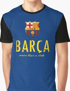Barcelona FC - Logos more than a club  Graphic T-Shirt