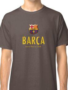 Barcelona FC - Logos more than a club  Classic T-Shirt