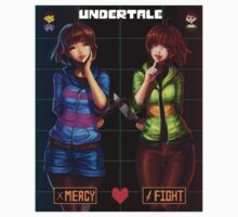 Mercy or Fight - Undertale Kids Tee