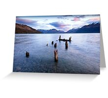 Glenorchy - New Zealand Greeting Card