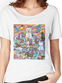 Melting Mountain Gathering Women's Relaxed Fit T-Shirt
