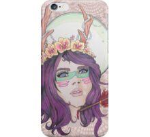 Huntress Hunted iPhone Case/Skin