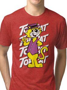 Top The Cat Tri-blend T-Shirt