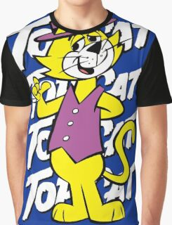 Top The Cat Graphic T-Shirt