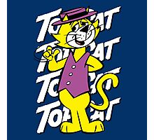 Top The Cat Photographic Print