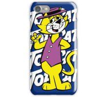 Top The Cat iPhone Case/Skin