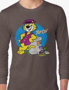 Stylish Cat Long Sleeve T-Shirt