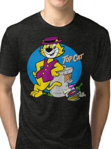 Stylish Cat Tri-blend T-Shirt