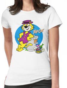 Stylish Cat Womens Fitted T-Shirt