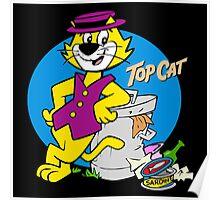 Stylish Cat Poster