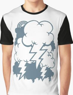 angry clouds Graphic T-Shirt