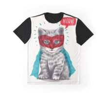 The Hero Cat Graphic T-Shirt