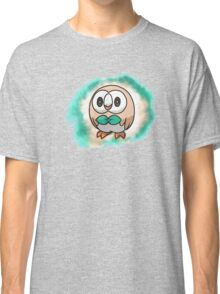 Rowlet - pokemon sun and moon starter Classic T-Shirt