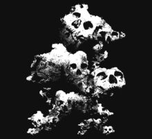 skull cloud One Piece - Long Sleeve