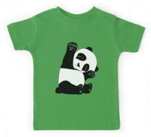 Waving Panda Kids Tee