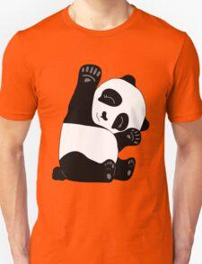 Waving Panda Unisex T-Shirt