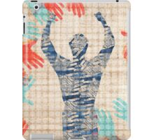 Hands and Man iPad Case/Skin