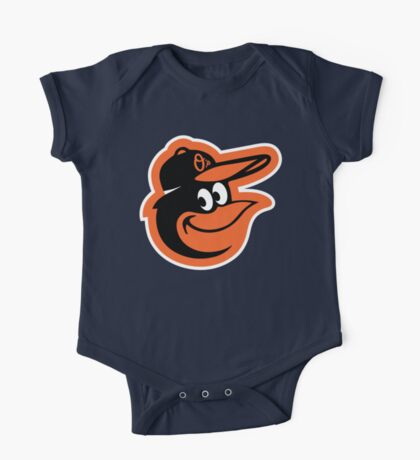 Redskins Orioles One Piece - Short Sleeve