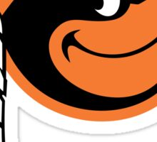 Redskins Orioles Sticker