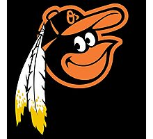 Redskins Orioles Photographic Print