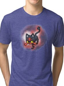 Litten - pokemon sun and moon starter Tri-blend T-Shirt