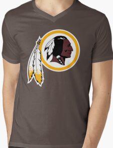 Redskins Orioles Mens V-Neck T-Shirt