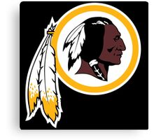 Redskins Orioles Canvas Print