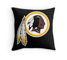 Redskins Orioles Throw Pillow