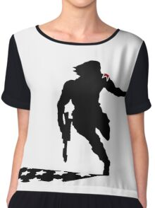 Winter Soldier Chiffon Top